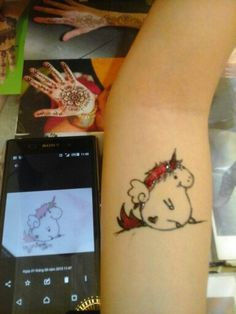 Henna by me...... so funny