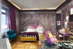 Suite diseñada por Encarna Romero para Casa Decor Madrid 2011.