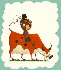 Dragún - Childrens Book by Steve Simpson, via Behance