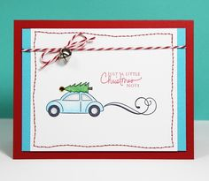 christmas card, this is funny seeing as I have a beetle:)