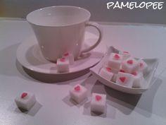 pamelopee: DIY: Würfelzucker mit Herz