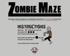 Learn more about zombies as you make your way through a maze in this challenge. Presentation Backgrounds, Maze, Zombies, Need To Know, Challenges, Templates, Learning, How To Make, Models