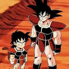 Saiyan Armor Goku and Gohan Dragon Ball Dbz, Goku And Gohan, Dragon Ball Image, Dragon Ball Gt, Fanart, Anime Costumes, Anime Manga, Anime Art, Anime Characters