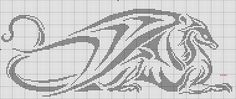 now i make this cross stitch dragon , do you like it? Dragon Cross Stitch, Beaded Cross Stitch, Crochet Cross, Filet Crochet, Cross Stitch Charts, Cross Stitch Designs, Cross Stitch Embroidery, Embroidery Patterns, Cross Stitch Patterns