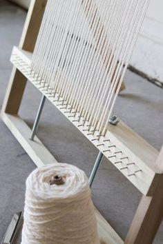 XL Adjustable Weaving Loom Plans Digital File to Make Your Weaving Loom Diy, Rug Loom, Weaving Projects, Diy Projects, Make Your Own, How To Make, Tapestry Weaving, Navajo Weaving, Weaving Techniques