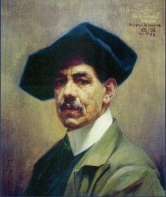 Autorretrato Germán Gedovius