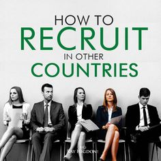 Off to Speak in the UK today but here is the Best Way to Recruit in Other Countries - http://rayhigdon.com/network-marketing-recruiting-countries/