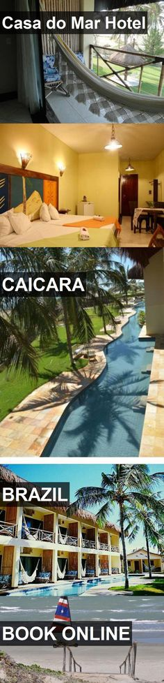 Casa do Mar Hotel in Caicara, Brazil. For more information, photos, reviews and best prices please follow the link. #Brazil #Caicara #travel #vacation #hotel