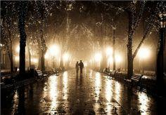 Rainy Night, Odessa, Ukraine