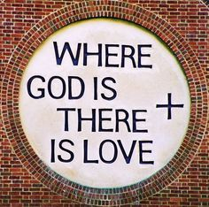 """""""Where God is, there is Love"""" • Fairford Leys Ecumenical Church in Aylesbury, England • photo: Roger Marks (R~P~M) on Flickr"""