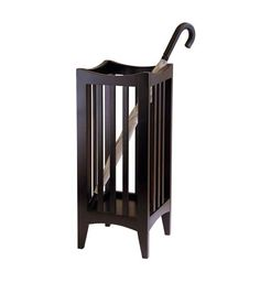 umbrella stand | ... Devices > Walking Canes & Sticks > Wooden Umbrella Stand - Cappuccino