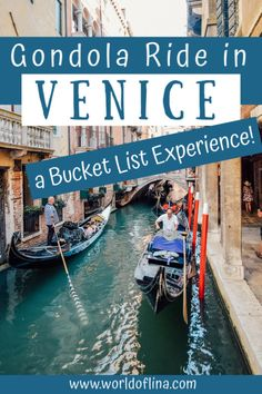 A gondola ride in Venice is something that should be on everyone's bucket list! Read everything about my experience here. #venezia #venice #italy #europe | Travel to Venice | Italy Travel | Europe Travel Italy Travel Tips, Travel Europe, Italy Destinations, Iceland Travel, Venice Italy, Trip Planning, Traveling By Yourself, Travel Inspiration, Bucket