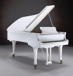 Kuyruklu Piyano Beyaz   FAZIOLI