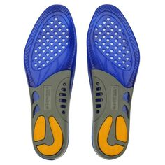 Dunlop Insole Unisexe Energy Absorption Odour Control