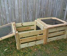comment fabriquer un composteur avec mon magasin général | jardin ... - Comment Fabriquer Un Composteur Exterieur