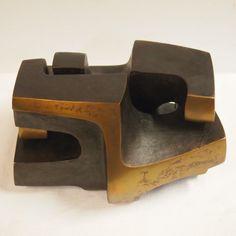 Andre Dekeijser (1958) : Sculpture en 2 éléments, « 2 formes ...