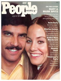 1974 mark spitz i had a life size poster of him