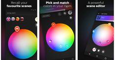 Philips' Hue app is actually good now Light App, Smart Lights, Hue, Tech, Color, Colour, Technology, Colors