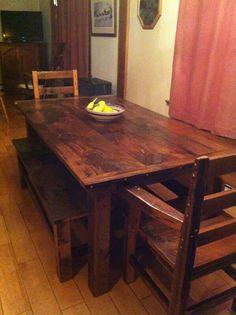 17 best reclaimed barn wood farmhouse plank tables images plank rh pinterest com