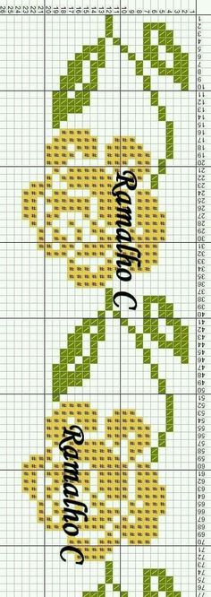 Folk Art Towels For Kitchen Cross Stitch Numbers, Cross Stitch Borders, Cross Stitch Alphabet, Cross Stitch Baby, Cross Stitch Flowers, Cross Stitch Designs, Cross Stitching, Cross Stitch Embroidery, Hand Embroidery