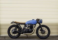 Seaweed & Gravel just finished a Honda CB550 again! http://seaweedandgravel.com #Honda #CB550 #custom