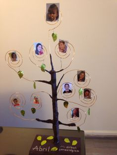 Rbol familiar infantil family trees manualidades and - Ideas para hacer un arbol genealogico ...
