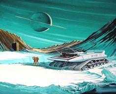retro science fiction art | Explorers | Retro Science Fiction Art Phreek…