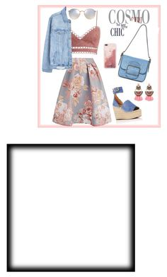"""Untitled #5"" by rianandaangeraini on Polyvore featuring Zimmermann, MANGO, Chloé, Ray-Ban, Tory Burch and Elizabeth Cole"
