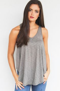 Remember Me Tank: Olive Green | $36