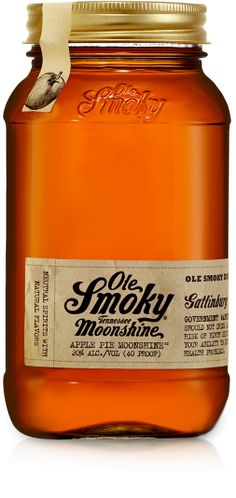 Apple Pie Moonshine - Ole Smoky Moonshine Tennessee #moonshine #olesmoky