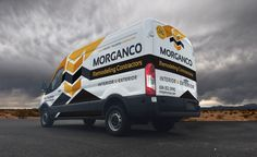 Vehicle wrap design for Morganco Remodeling Contractors. The best vehicle wraps…