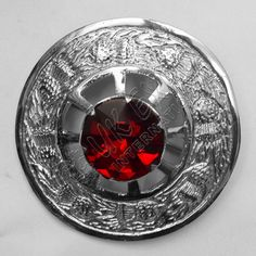 Ruby Stone Brooches | Plaid Brooches