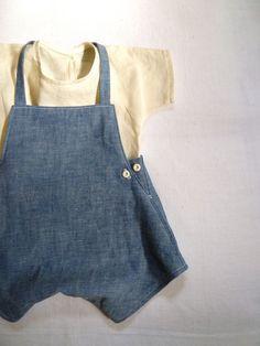 Linen Tee | Overalls