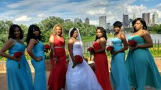 Tiffany Blue and Red Wedding