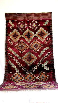 Area Rug Talsint Carpet Tribal berber Artwork from Morocco #B15# vintage unique handcrafted flooring decorative rug home living art decor