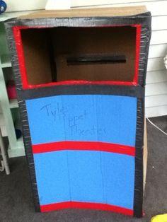 Create a Puppet Theater - Cardboard Crafts