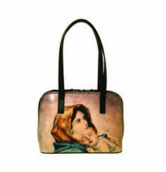 Ručne maľovaná kabelka 8574 inšpirovaná motívom Roberto Ferruzzi