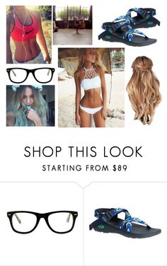 """Beach"" by themysteriousmultifandomgirl ❤ liked on Polyvore featuring Muse and Chaco"