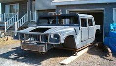 convertir un vieux pick up en hummer h1 tuning ford f 150 9   Convertir un vieux pick up en Hummer H1   tuning transformation pick up photo ...