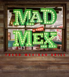 The core value of Mad Mex is the pursuit of the most authentic Mexican food experience. The design is inspired by Mexican street cafés and taquerias. We emphasised real and unsophisticatedmaterials and traditional street signage.