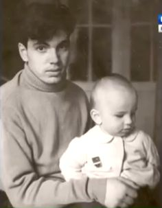 Dmitri with his father