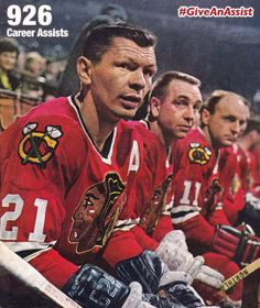 c33c12ae592  Blackhawks Fans  Stan Mikita gave 926 assists. Can you  GiveAnAssist on