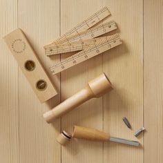 Areaware Wood Tool Set by West Elm