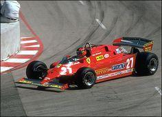 Gilles Villeneuve - 1981 Ferrari