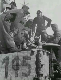 Unteroffizier Gartner showing Hungarian tank crews around Tiger Tiger Ii, Military Gear, Military Equipment, Tiger Tank, Ww2 Photos, Model Tanks, Tank I, Ww2 Tanks, World War Two