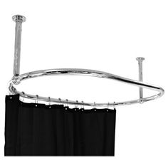 The Luxury Oval Chrome Plated Racetrack Shower Curtain Rail is a great choice if you fancy creating a more original looking bathroom. Now in stock online. Curtain Rails, Shower Curtain Rods, Traditional Shower Curtains, Bathroom Inspiration, Bathroom Ideas, Family Bathroom, Bath Ideas, Small Bathroom, Shower Rail