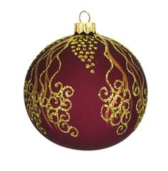 """Ukraine Ornaments Style 5098 4"""" Diameter Handcrafted in Ukraine, ornaments from Elite Ornaments are unlike any other in the world. Each ornament is blown and shaped by skilled artisans before being ha"""