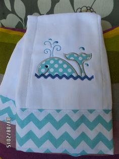 Baby  Burp  100% cottom  Embroidery applique