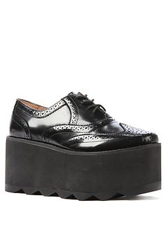 The Munch Platform in Black by Jeffrey Campbell...NEED!!!