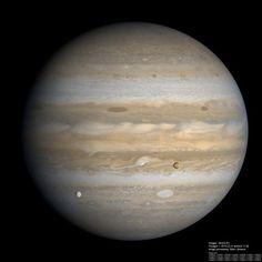 Jupiter, Io and Europa